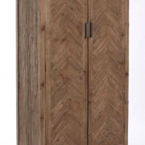 Armario de madera natural kiveka decoraci n de for Armario madera natural
